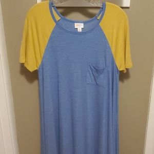 NWOT blue and gold LLR Carly